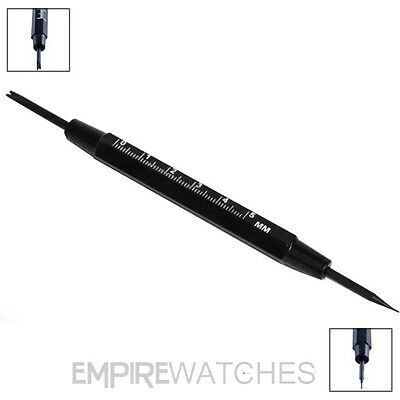 *new* Watch Spring Bar Pin Remover Tool - Repair Change Steel Or Leather Straps