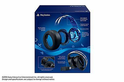 PlayStation 4 Platinum Wireless Headset (PS4, PS3, PC, MAC)NEUOVP