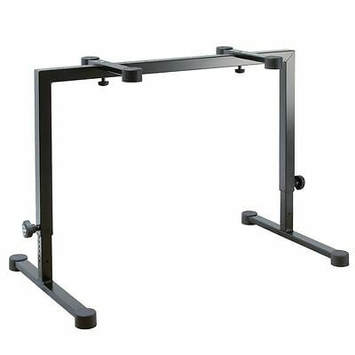 """K&M 18810 Table-Style Keyboard Stand """"Omega"""" - Black"""