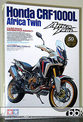 1/6 Tamiya Honda Cfr1000L Africa Twin Memorial Big Scale Bike 16042