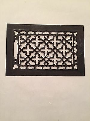 Vintage Iron Heating Grate Or Vent Cover