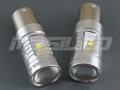 2 bombillas LED Canbus BA15S P21W 6 Chips CREE 30W color blanco puro 5000K