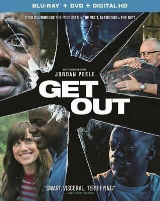 Get Out New Blu-Ray/Dvd