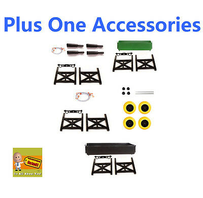 Plus One Mighty Max Cart Accessories Utility Tub Fishing Pole Holders Cargo Wall
