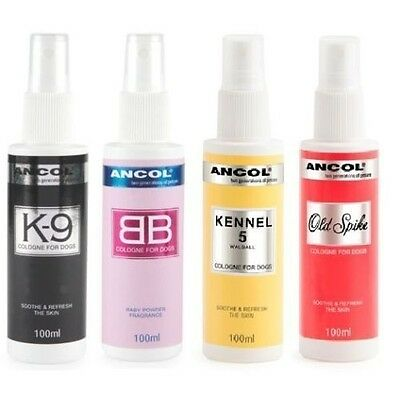 ANCOL Dog Cologne Perfume Deodorant Scent Fresh Spray after Bath time Smell Nice