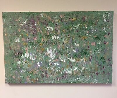 Original Large Acrylic Abstract Painting 36 X 24 Inches