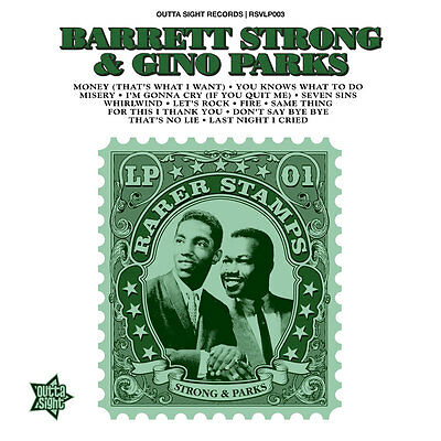 "Rarer Stamps - Barrett Strong & Gino Parks""  Stunning Northern Soul / R&b"