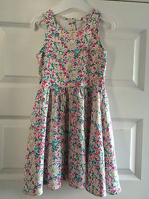 Girls Gorgeous Floral Summer Dress Age 7 Years