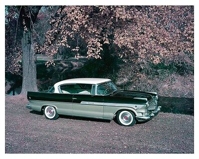 1957 Hudson Hornet Hollywood Factory Photo uc2501