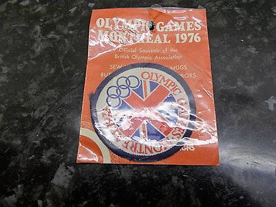 1976 Montreal Olympic Games Sealed Patch