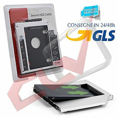 2nd Hard Drive HDD SSD Caddy for HP Pavilion G4 G6 G7 replace UJ8B1 DS-8A5LH DVD