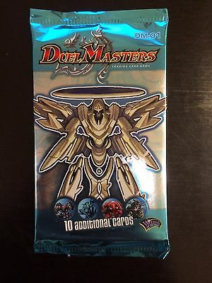 Duel Masters ☉ Dm-01 ☉ Booster [10 Cards] ☉ Vo ☉ Sealed / Ovp / Neuf