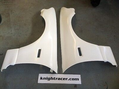R33 GTS +25mm Wider Front Fenders Wings GTR style for GTSt wide front fender
