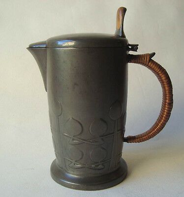 Lovely Liberty & Co Tudric Archibald Knox Pewter Jug Arts Crafts Art Nouveau