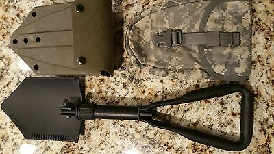 US Army NEW Entrenching Tool with GC Plastic Alice and Molle Carrier