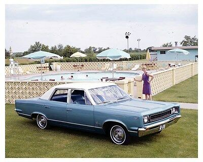 1967 AMC Rambler Rebel 770 Factory Photo uc2733