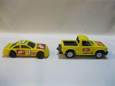 Dr Pepper Die Cast Chevy Truck And Stocker By Tootsietoy
