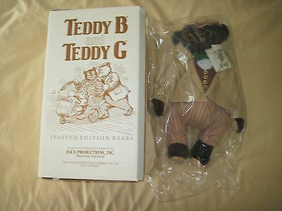 Limited Edition Teddy B Teddy Bear #265 by Dean's Chidplay Toys of Great Britian