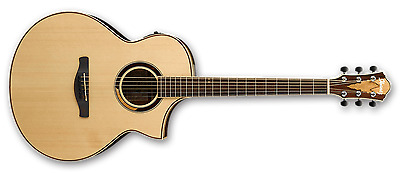 Ibanez AEW51 Exotic Wood Acoustic Electric Guitar - Natural