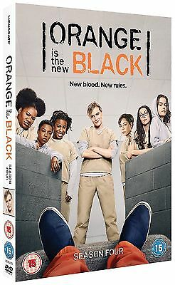 Orange Is The New Black Complete Season 4 DVD New & Sealed *** FAST & FREE ***