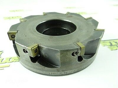 "6"" Indexable Face Mill Lindsay Cutting Tools 2"" Bore"