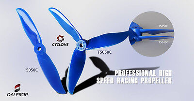 Dal Prop Cyclone Tri Blade T5050C Propellers CW/CCW  15 Packs (60 Pieces)