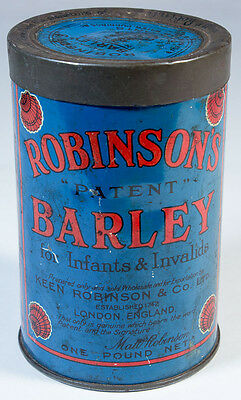 "Vintage Robinson's Barley Tin - ""For Infants & Invalids"""