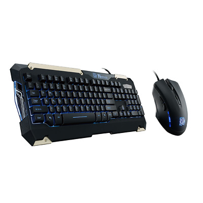 Tt eSports: Commander Gaming Gear Combo - PC - BRAND NEW