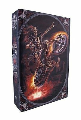 Hell Rider Secret Hidden Book Box By Anne Stokes