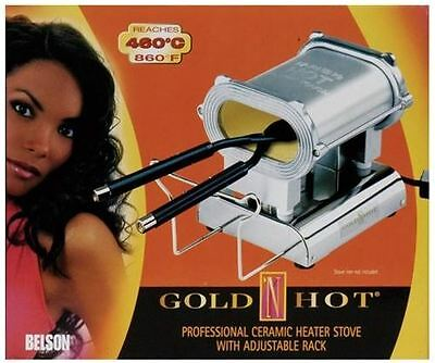 New Gold N Hot Professional Ceramic Heater Stove Maintains 860 Degree Fahrenhiet