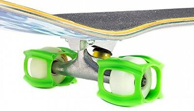 Skater Trainer 2.0, Skateboarding Accessory for Learning, Practising, Neon Green