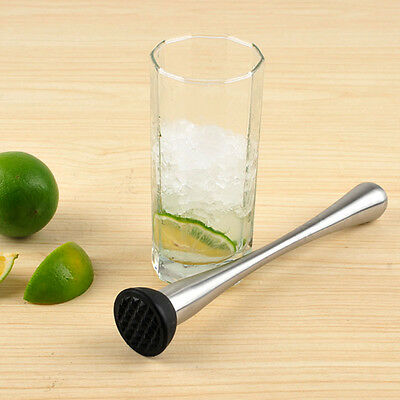 Stainless Steel Muddler Cocktail Drinks Pestle For New Tool Bar Accessories