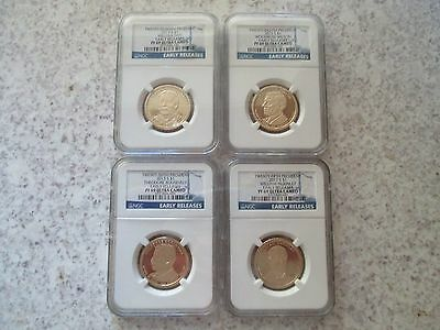 2013 Presidential Proof Set NGC PF 69 Ultra Cameo Early Release - 4 Coin Set!