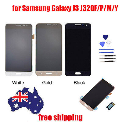 AU LCD Touch Screen Digitizer Display for Samsung Galaxy J3 J320F/P/M/Y Assembly