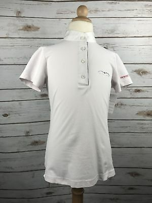 Animo Short Sleeve Competition Shirt in Pale Pink - Children's 10