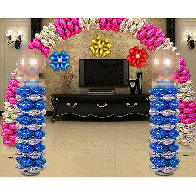 18 Inch Foil Balloon Heart Four Leaf Shape Make Arched Door Wedding Decor Pretty