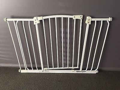 Adjustable Pet Child Safety Gate Extra Wide