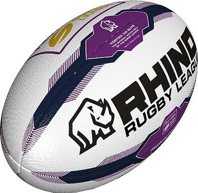Rhino Super League Outdoor Sports Match Training & Practice Rugby Ball Size 4-5