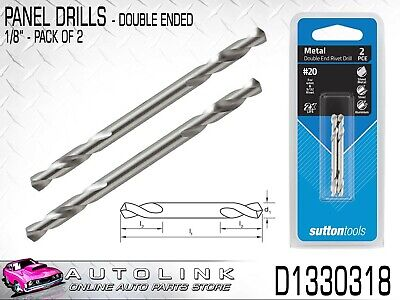 Sutton Panel Drills (2 Pack) High Speed Steel - Double Ended D1330318