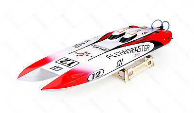 10034 Flowmaster 920mm Twin Brushless Fiberglass  Catamaran RC Racing Boat