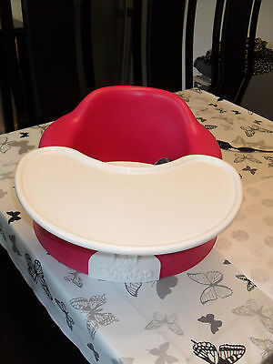 Baby Comfortable Bumbo Combi Sitter Soft Floor Seat Chair Detachable Play Tray