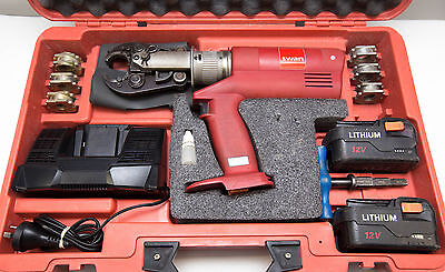 SWAN Cordless Battery Hydraulic Crimper KIT Gas Water Plumbing PEX Pressing Tool