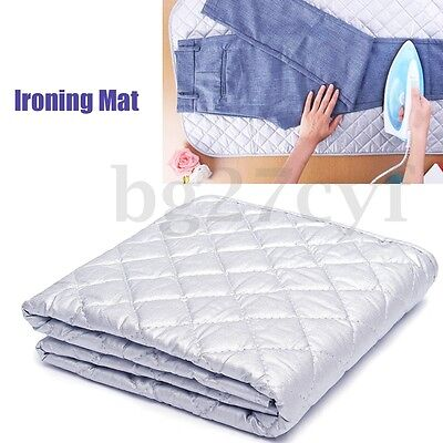Iron Anywhere Ironing Mat Compact Portable Ironing Cotton Board Pad Dryer Washer