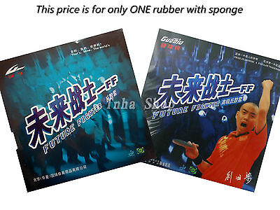 GuoQiu FUTURE FIGHTER Pips-In Table Tennis Rubber With Sponge
