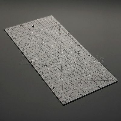30*15cm Quilting Sewing Patchwork Ruler Grid Cutting Edge Tailor Craft Tool