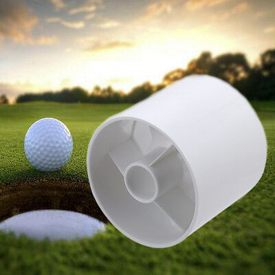 Portable Plastic Golf Green Hole Cup Putting Backyard Training Practice Aids WD