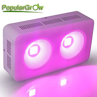 Upgrade Reflector 400w COB LED Grow Light  for Hydro plants veg growth blooming