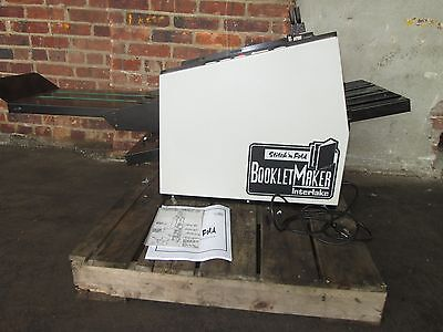 Interlake Bookletmaker Stitching & Fold  Bookletmaker Very Good  And Clean