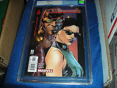 The Ultimates Giant Man Vs Wasp #6 8/02 Cgc 9.8 Milar Story~Hitch Art~Currie Cov