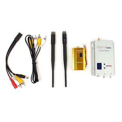 Quality 1.2G 1.5W Wireless 1500mw AV Transmitter Receiver Kit RC Model FPV Video